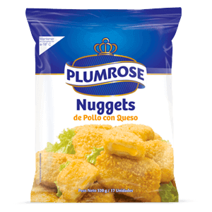 Nuggets de pollo con queso 320 g